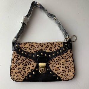 NWT genuine leather mini bag